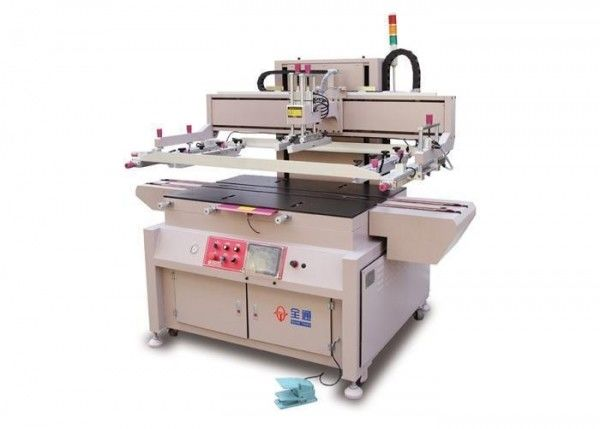 Liquid Crystal Glass Screen Printing Equipment , Industrial Screen Printing Printer
